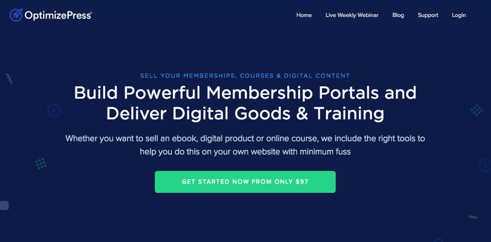 OptimizePress WordPress Membership Plugin