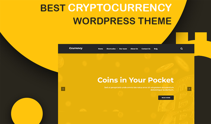 cCurrency Cryptocurrency WordPress Téma