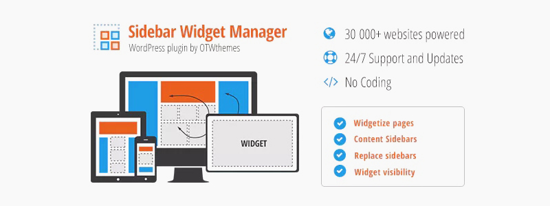 Sidebar & Widget Manager за WordPress