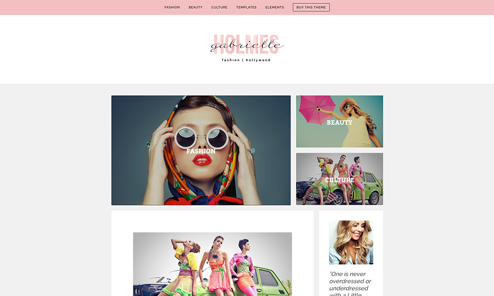 WP Beauty WordPress Tema