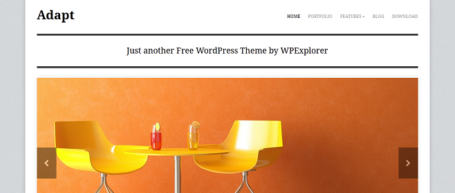 Adapta el tema de WordPress