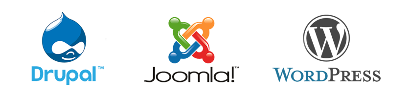 Drupal vs Joomla! vs. WordPress