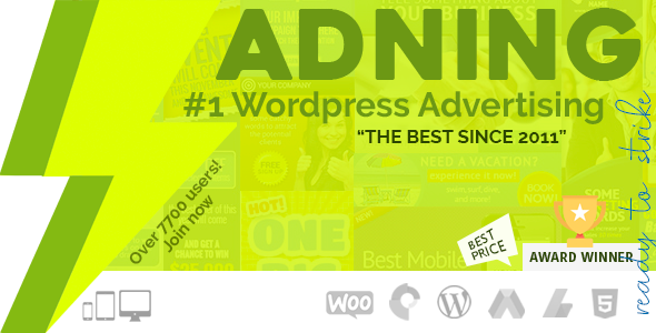 ADNING (WP Pro Advertising System) WordPress-Plugin