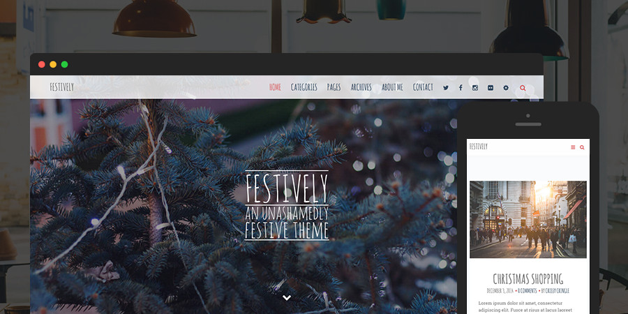 Festlich Premium WordPress Theme