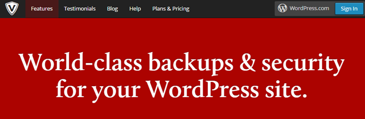 VaultPress за WordPress