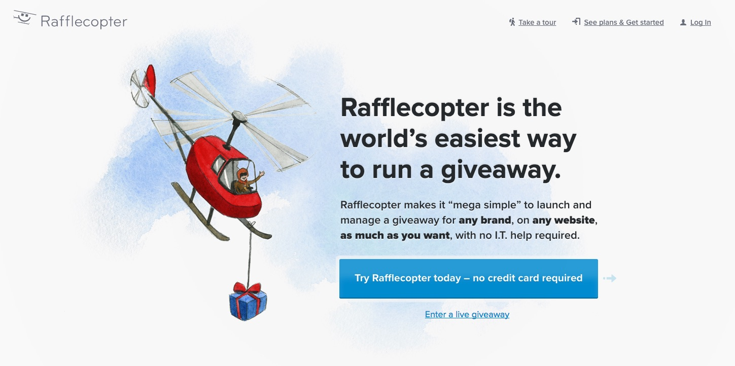 Rafflecopter Giveaway Manager