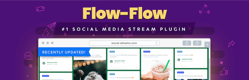 Plugin de flux de flux social Flow Flow Flux de WordPress