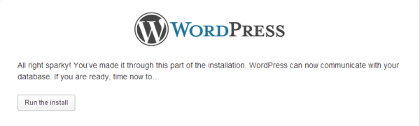 Configura WordPress 3