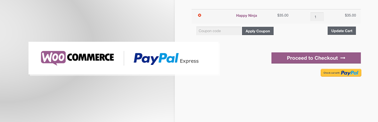PayPal Express Checkout WooCommerce扩展
