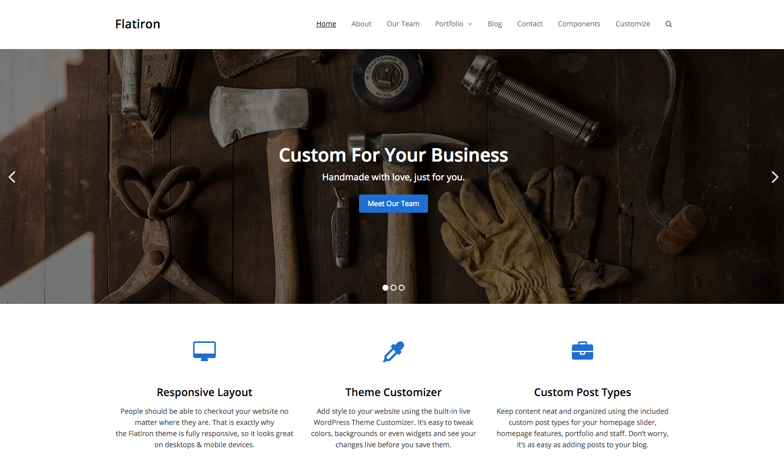 flatiron-minimal-business-theme