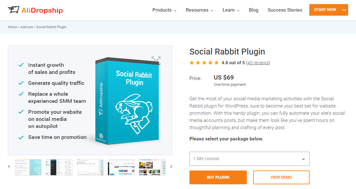 Social Rabbit WordPress Plugin