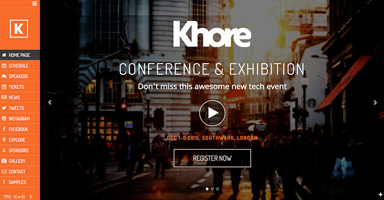 khore-конференция-envents-WordPress-тема