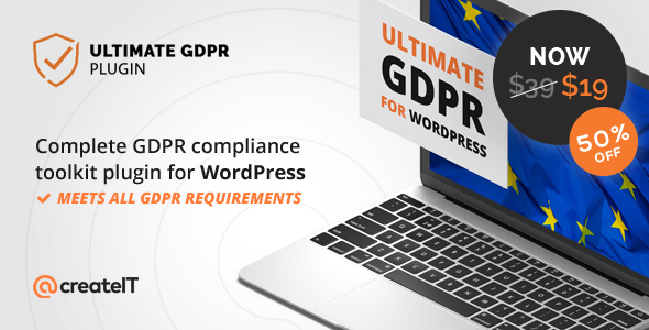 Ultimate GDPR Compliance Toolkit Premium WordPress插件