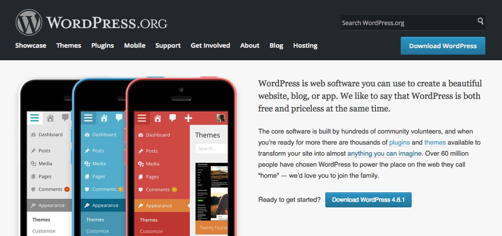 WordPress.org, WordPress s vlastním hostitelem