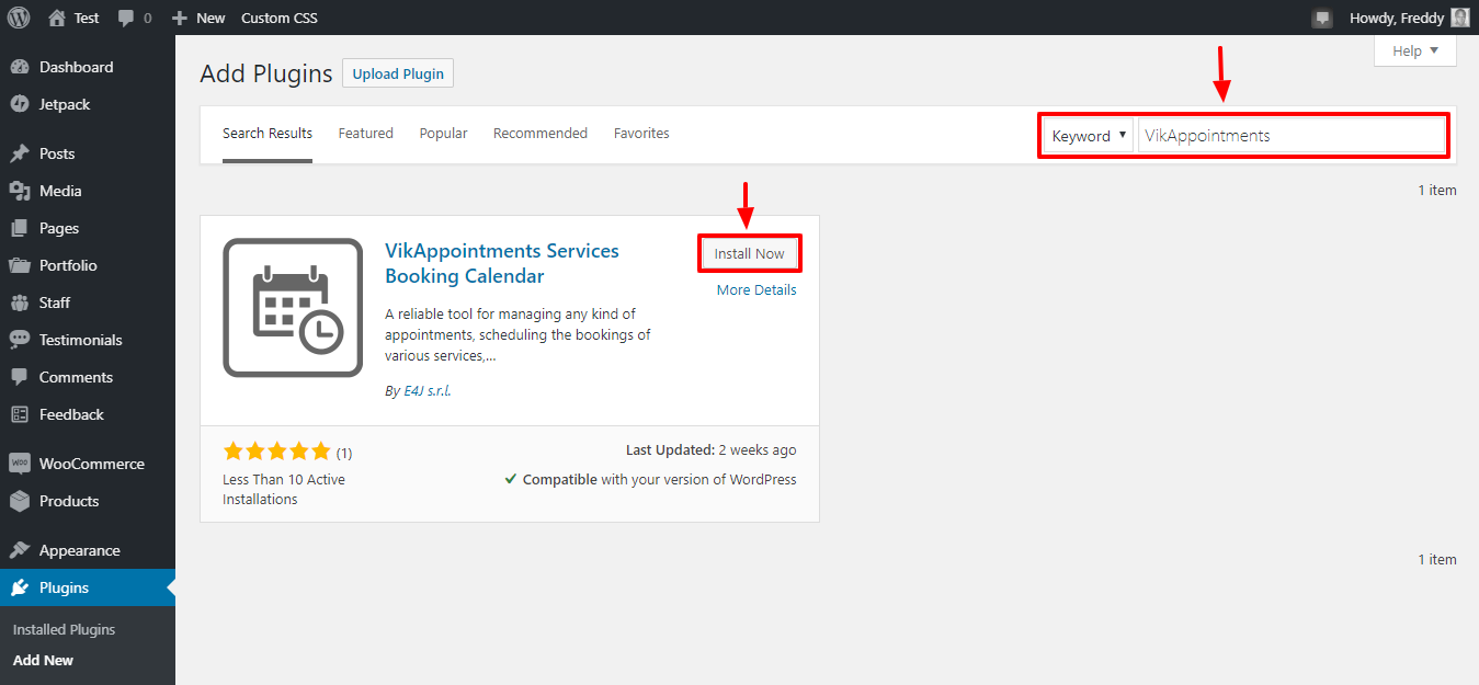 Installieren des Wikappointments-Plugins