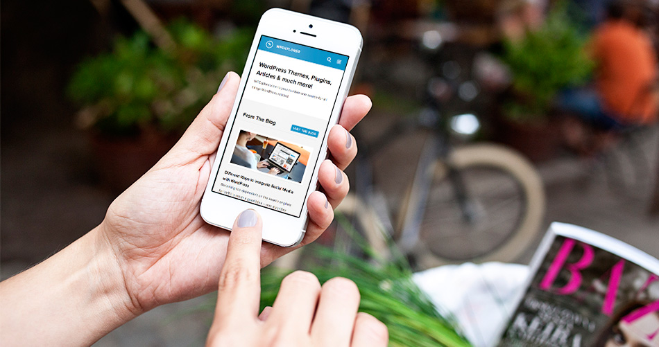 WordPress Mobile bereit