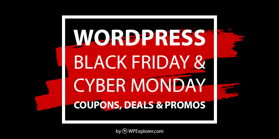 WordPress Black Friday and Cyber ​​Monday Sale, Coupons