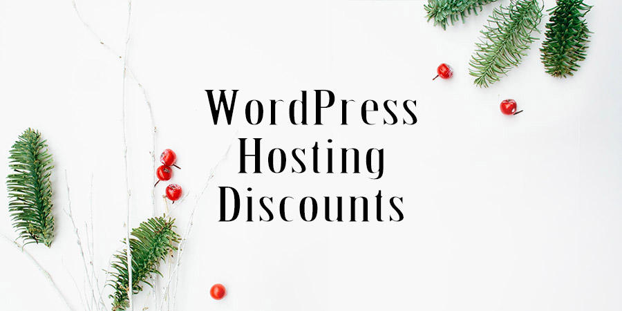 WordPress Hosting Holiday Sales