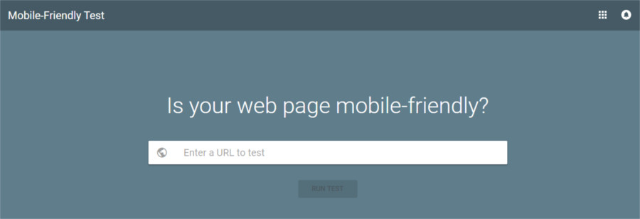 Prova de Google Mobile Friendly